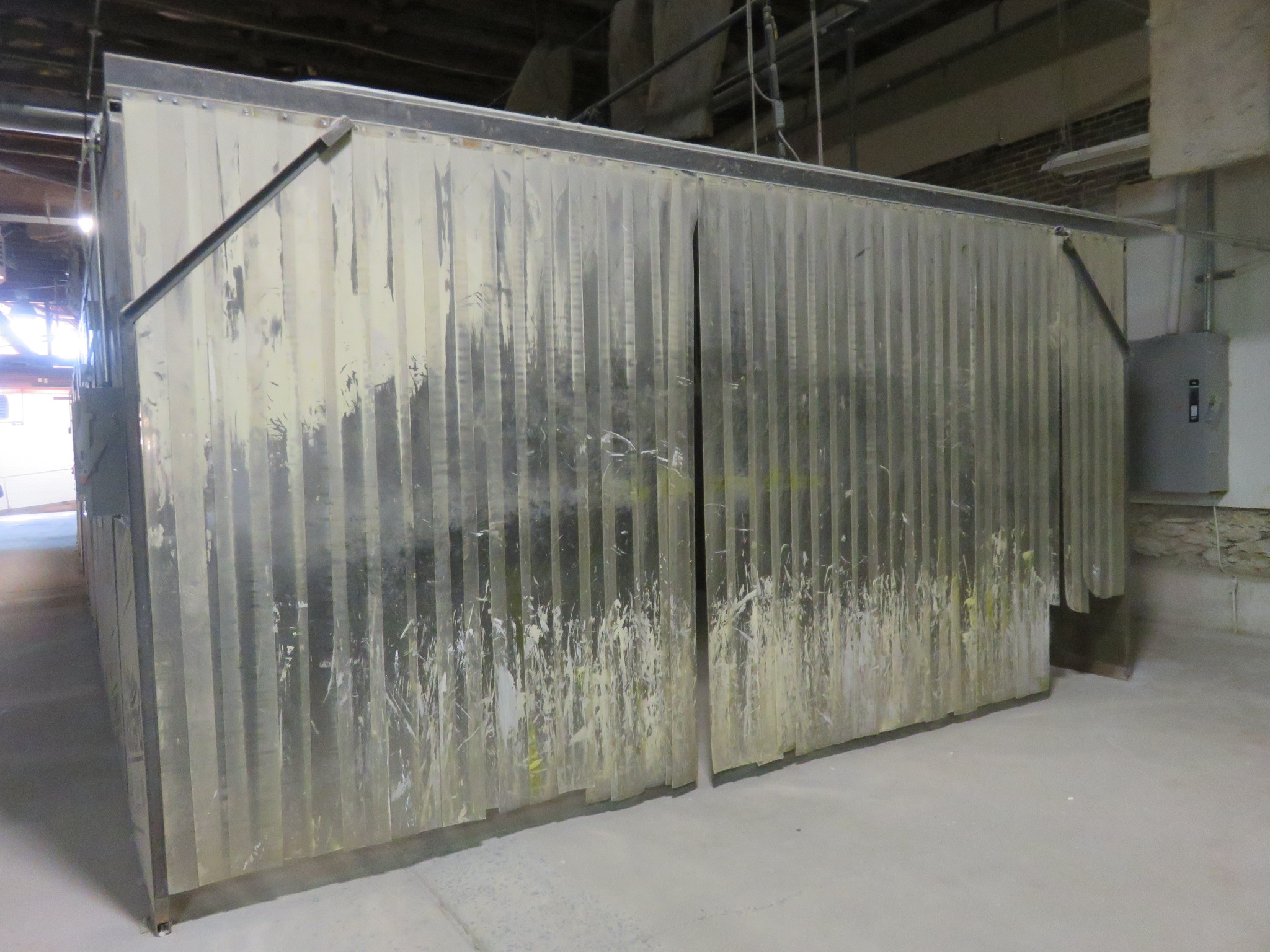 Custom Welded Drying Booth approx. 48' x 16' x 8 - Image 2 of 8