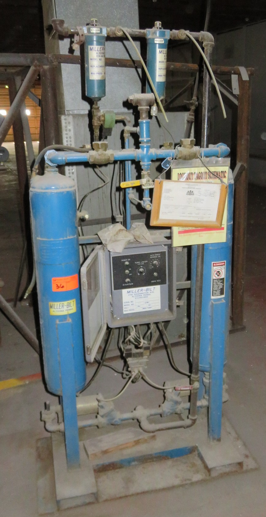 Miller-Bilt MB-50 Air Dryer Ph1