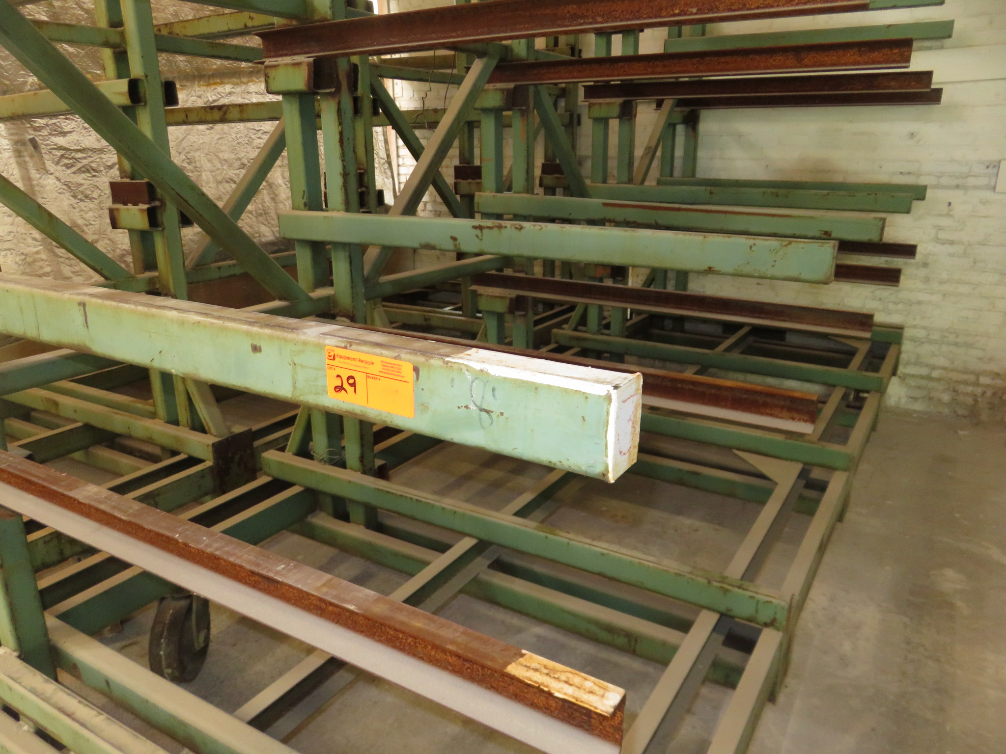 "Heavy Duty Cantilever Warehouse Racking Approx. 162"" x 63"" x 91"" - Image 2 of 2"