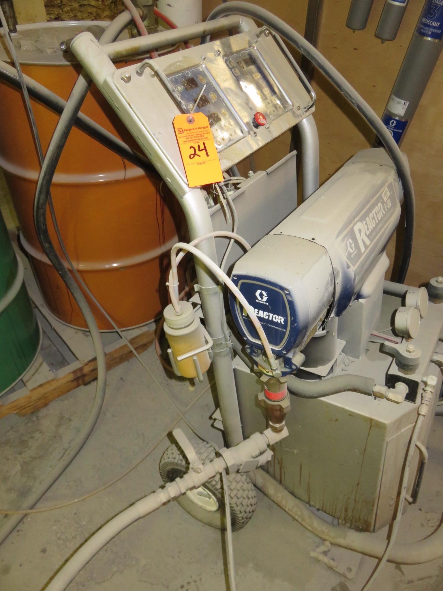 Graco Reactor E20 Sprayer - Image 3 of 7