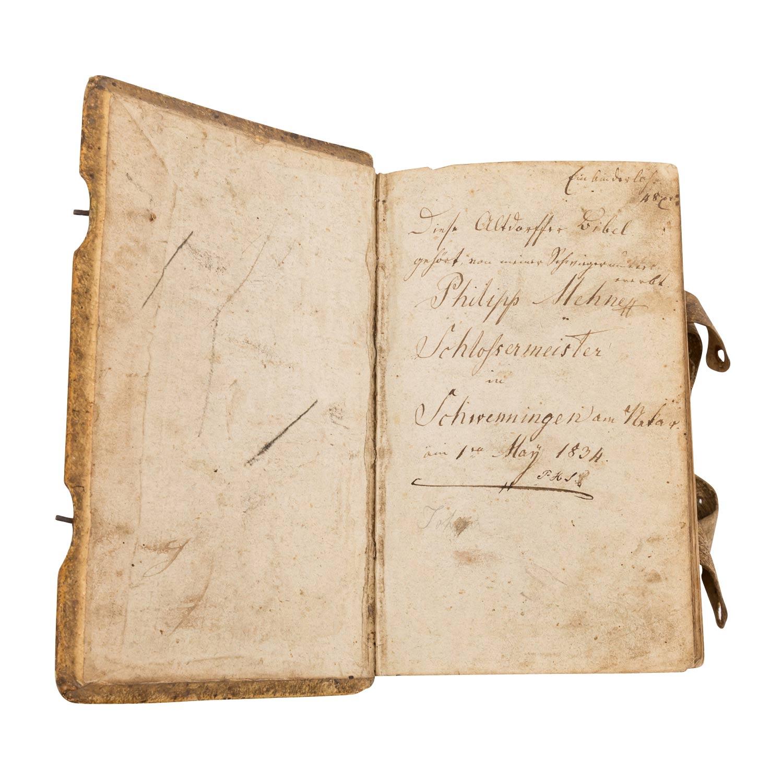 Bibel, Deutschland 18.Jh. - - Image 3 of 3