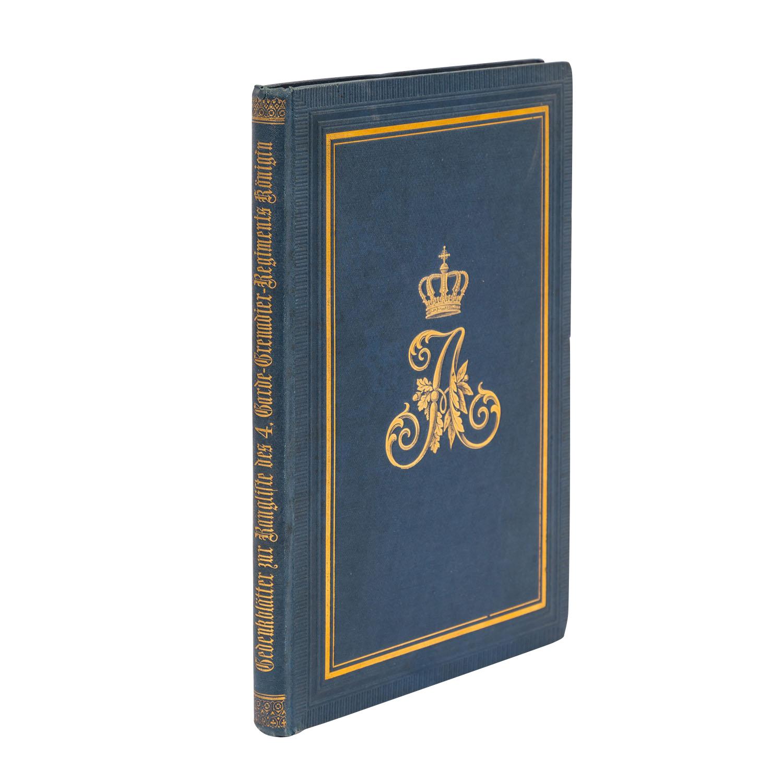 Gedenkblätter zur Rangliste des 4. Garde-Grenadier-