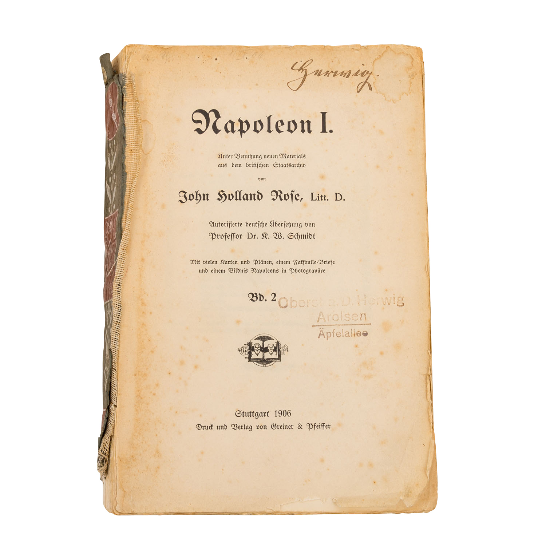 Napoleon I. unter Benutzung neuen Materials aus dem - Image 3 of 3