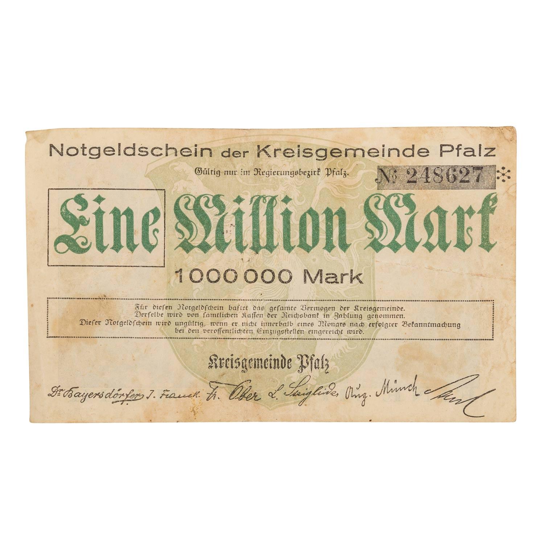Konvolut historischer deutscher Banknoten - - Image 4 of 5