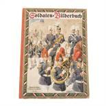 Soldaten-Bilderbuch. 16 Bildertafeln in Farben-