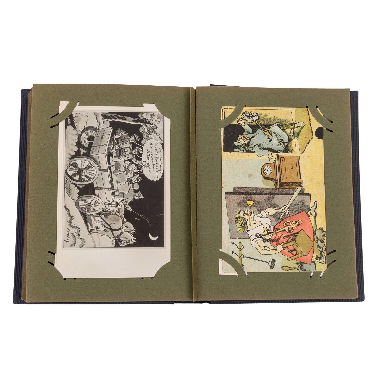 Hist. Postkartenalbum, Deutschland 19./20.Jh. - - Image 4 of 4