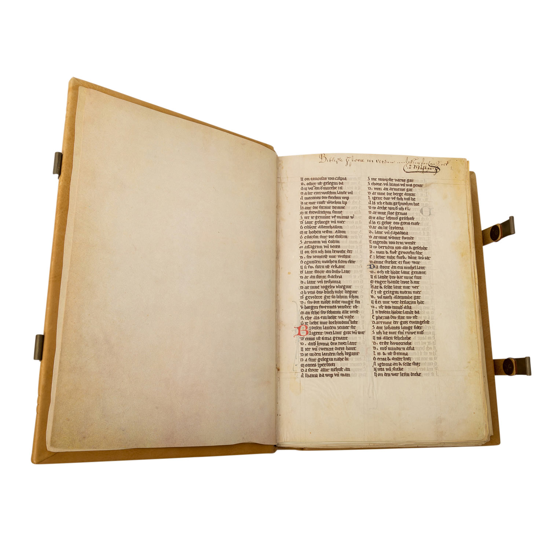 """Faksimile """"Rudolf von Ems: Weltchronik/ Der Stricker: Karl der Große"""" - - Image 2 of 4"""