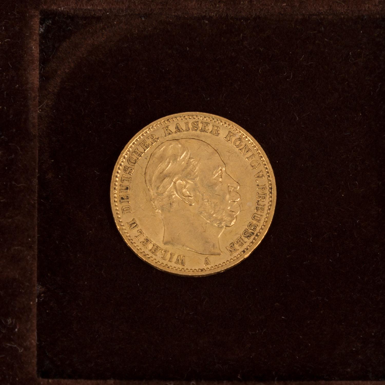 GOLDSCHATZ ca. 83 g fein, Holzkiste bestehend aus - Image 9 of 9