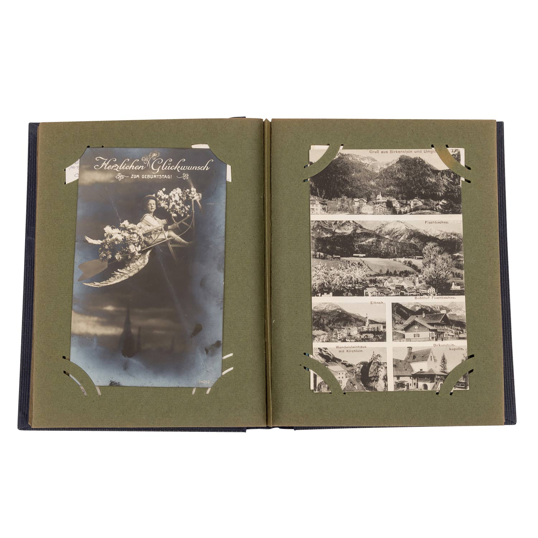 Hist. Postkartenalbum, Deutschland 19./20.Jh. - - Image 2 of 4