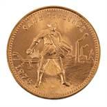 Russland/GOLD - 10 Rubel 1976, Tscherwonetz, vz.,