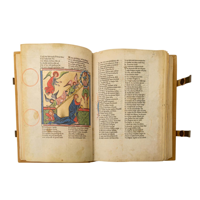 """Faksimile """"Rudolf von Ems: Weltchronik/ Der Stricker: Karl der Große"""" - - Image 3 of 4"""
