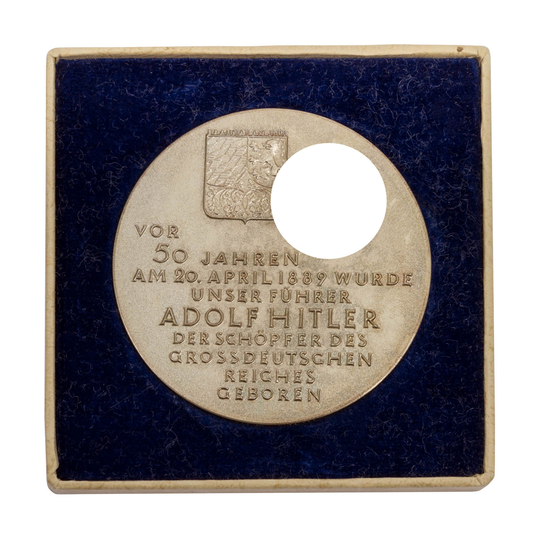 Deutschland 1933-1945 - Silbermedaille 1939, - Image 2 of 2