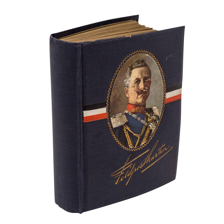Hist. Postkartenalbum, Deutschland 19./20.Jh. -