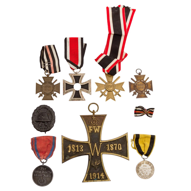 Württemberg/Deutsches Reich 1933-1945 - Konvolut mit