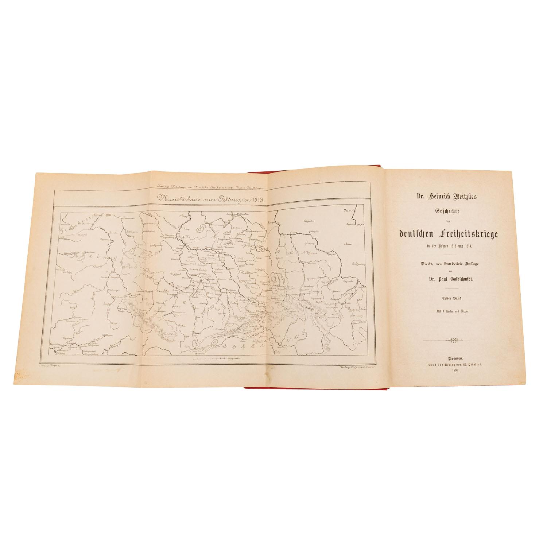 Die Freiheitskriege von Dr. Heinrich Beitzke, - Image 4 of 4