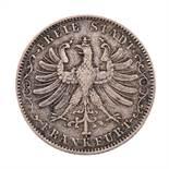 Frankfurt, Freie Stadt - 1/2 Gulden 1849,