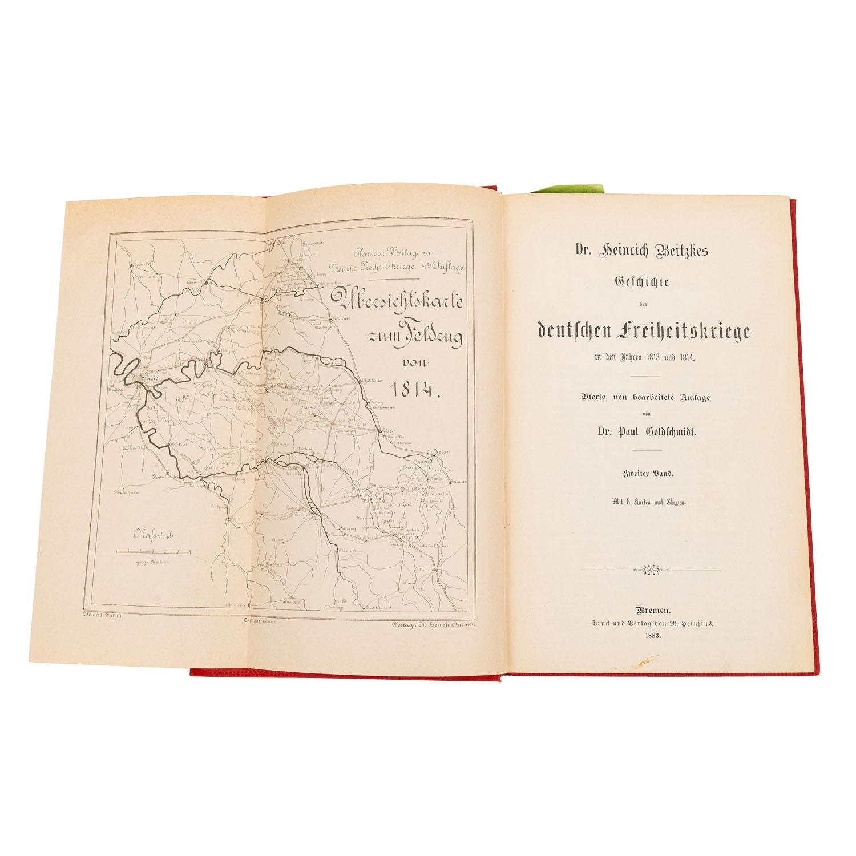Die Freiheitskriege von Dr. Heinrich Beitzke, - Image 3 of 4