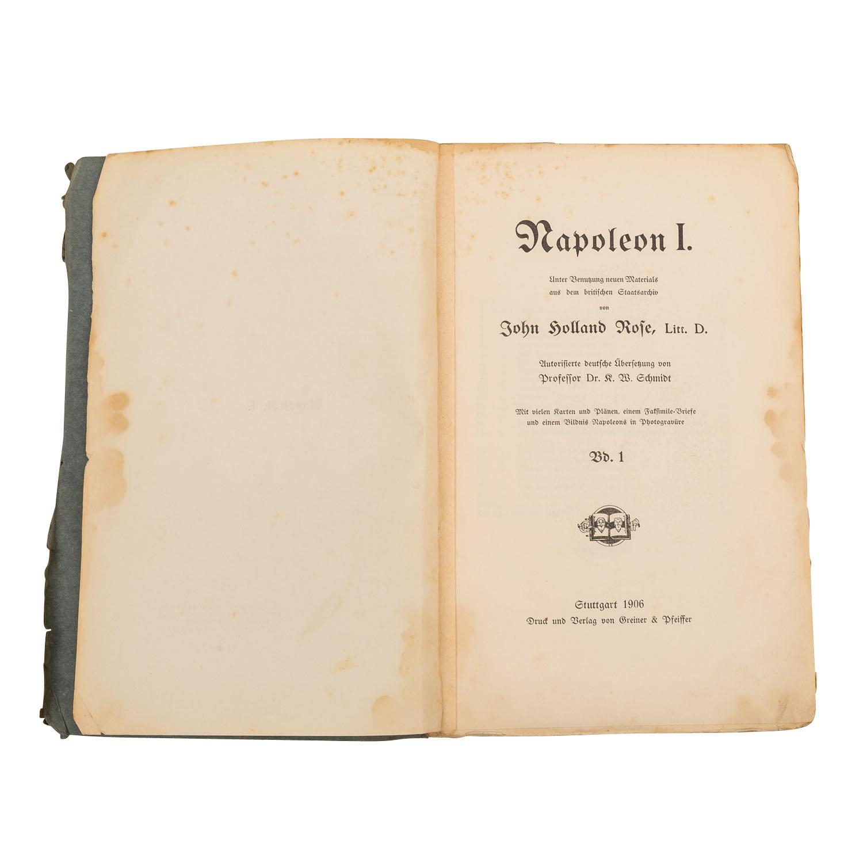 Napoleon I. unter Benutzung neuen Materials aus dem - Image 2 of 3