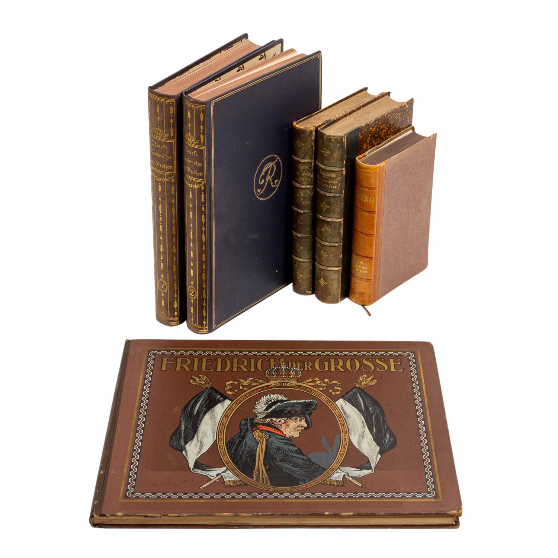 Der alte Fritz - Konvolut mit 6 Büchern