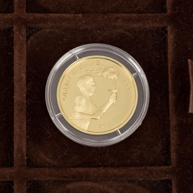 GOLDSCHATZ ca. 83 g fein, Holzkiste bestehend aus - Image 6 of 9