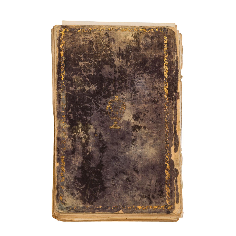 Seltenes Fragment mit Kupferstichen
