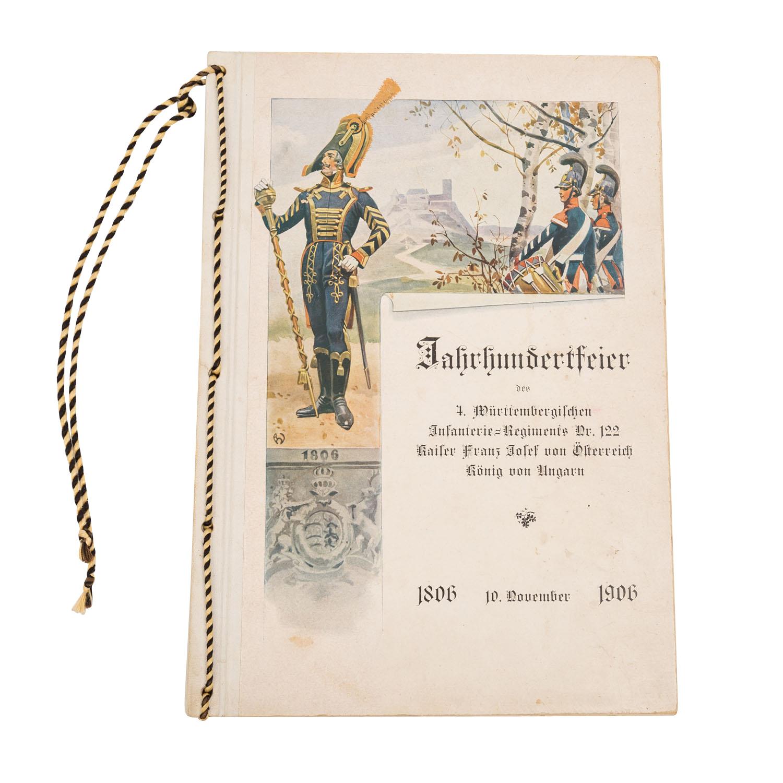 Jahrhundertfeier des 4. Württembergischen Infanterie-Regiments