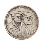 Weimarer Republik - Silbermedaille 1930, von Karl Goetz,