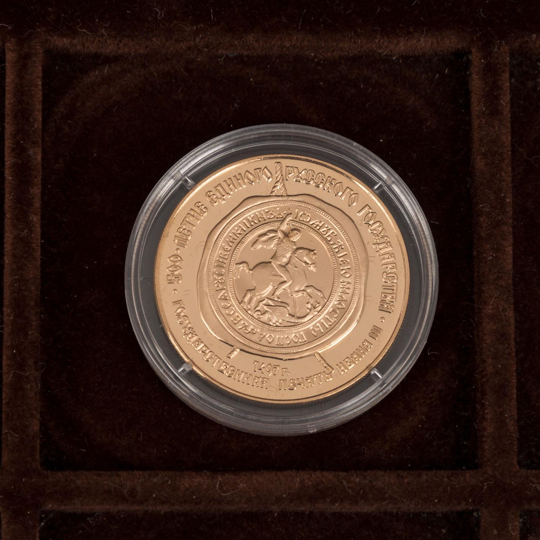 GOLDSCHATZ ca. 83 g fein, Holzkiste bestehend aus - Image 4 of 9