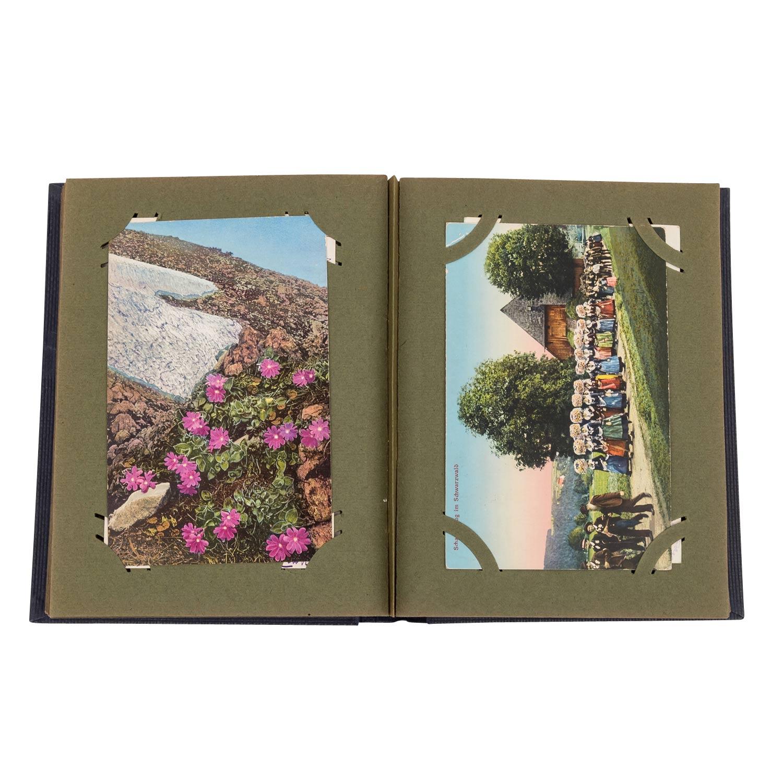 Hist. Postkartenalbum, Deutschland 19./20.Jh. - - Image 3 of 4