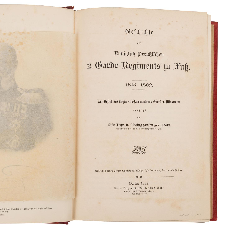 Geschichte des Königlich Preußischen 2. Garde-Regiments - Image 2 of 3