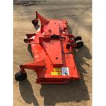 KUBOTA RC60R-25B 60 INCH DECK, 3 CUTTING BLADES, NOT SEIZED, BLADES ALL SPIN *NO VAT*