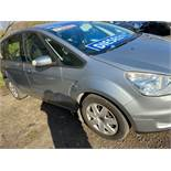 2007/07 REG FORD S-MAX LX TDCI 5G 7 SEATER 1.8 DIESEL SILVER MPV, SHOWING 1 FORMER KEEPER *NO VAT*