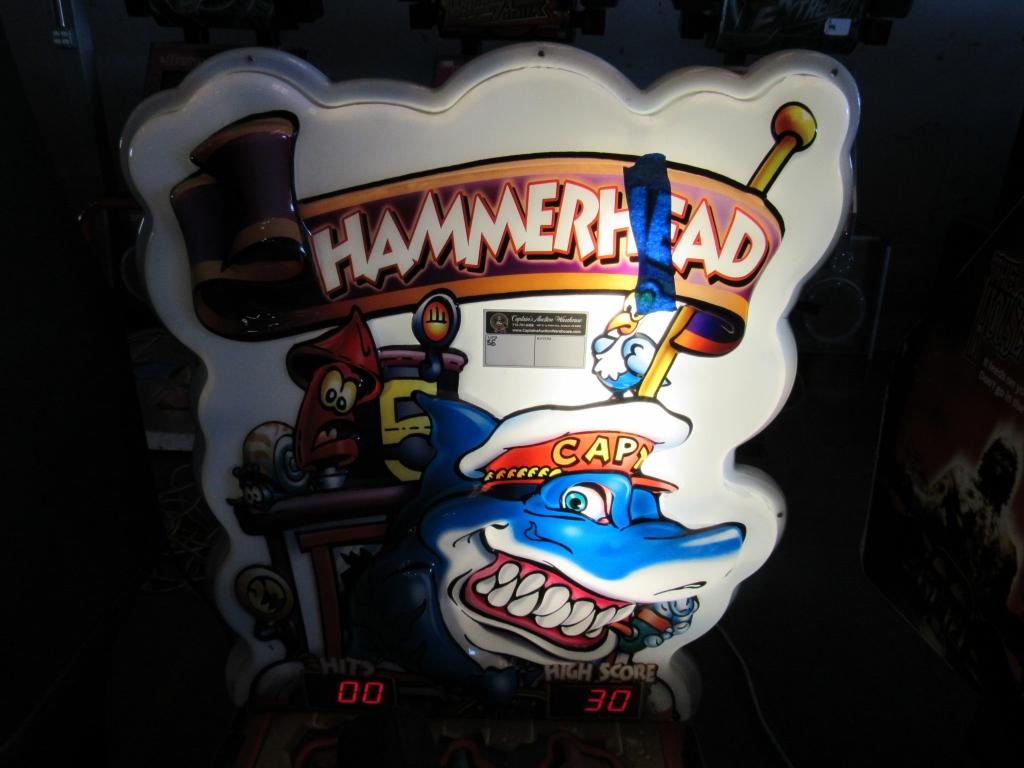 Lot 188 - HAMMERHEAD POP UP TICKET REDEMPTION GAME