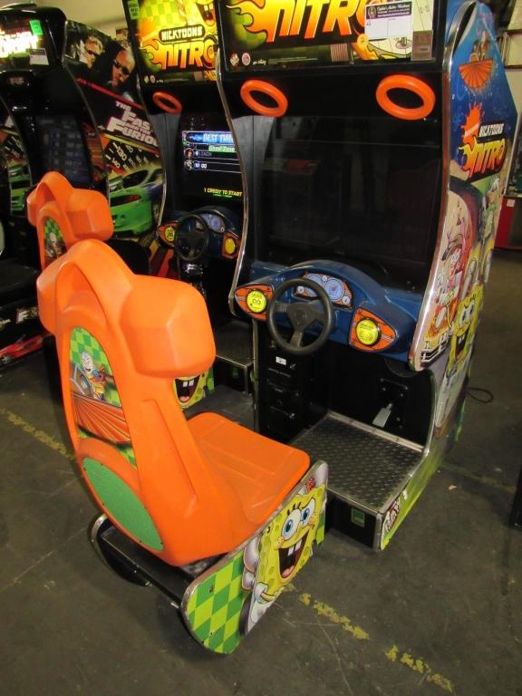 Lot 155 - NICKTOONS NITRO LCD RACING ARCADE GAME #1