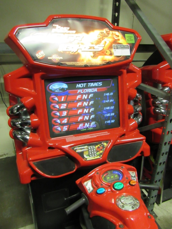 Lot 162 - SUPER BIKE FAST & FURIOUS RACING ARCADE GAME #2