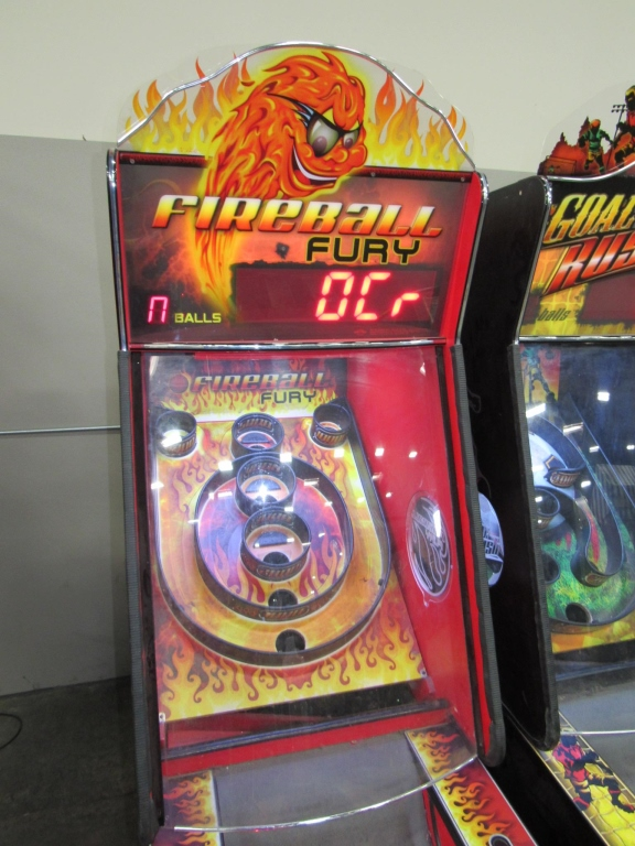 Lot 205 - FIREBALL FURY ALLEY ROLLER TICKET REDEMPTION GAME