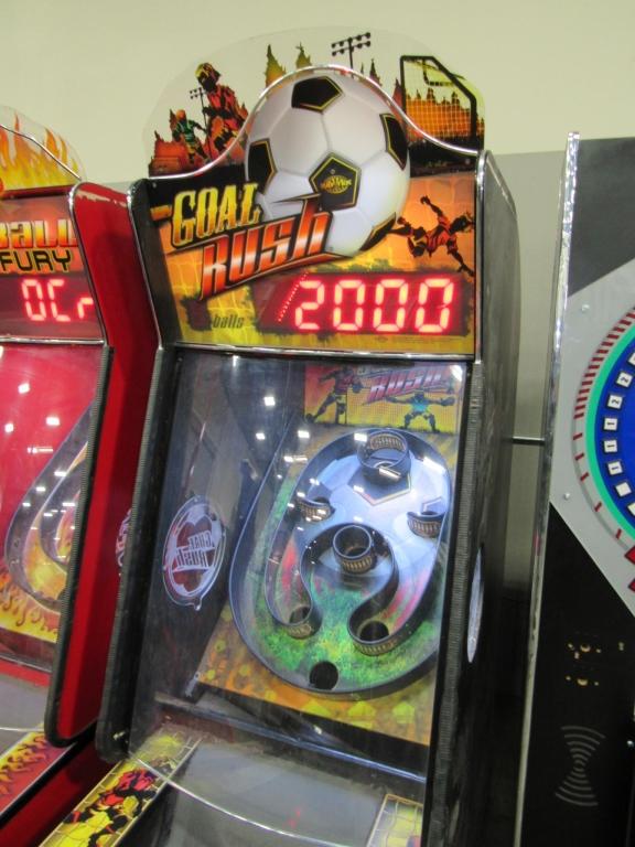 Lot 206 - GOAL RUSH SOCCER ALLEY ROLLER REDEMPTION GAME