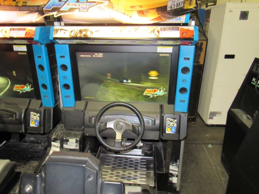 Lot 207 - INITIAL D6 DRIVER RACING ARCADE GAME SEGA #1