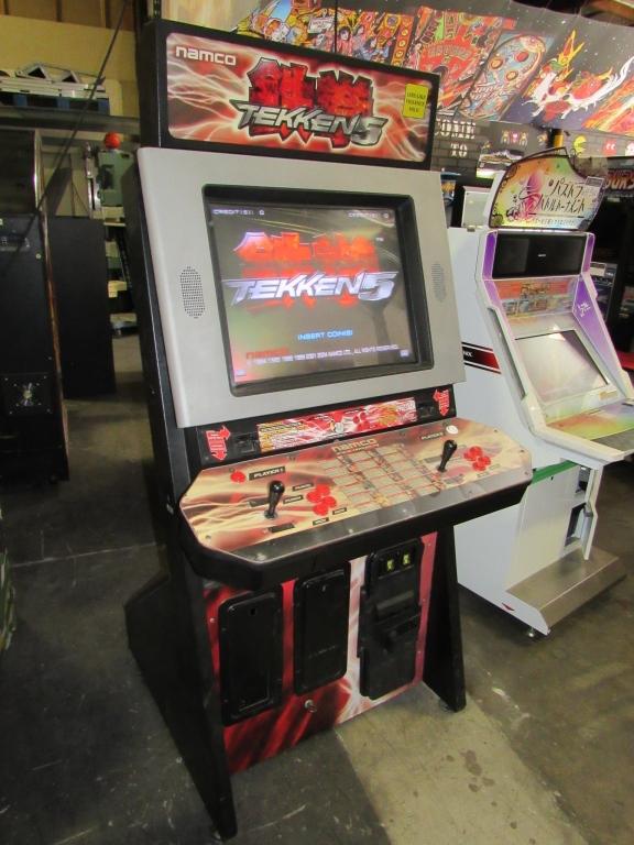 Lot 170 - TEKKEN 5 FIGHTING NAMCO DEDICATED ARCADE GAME
