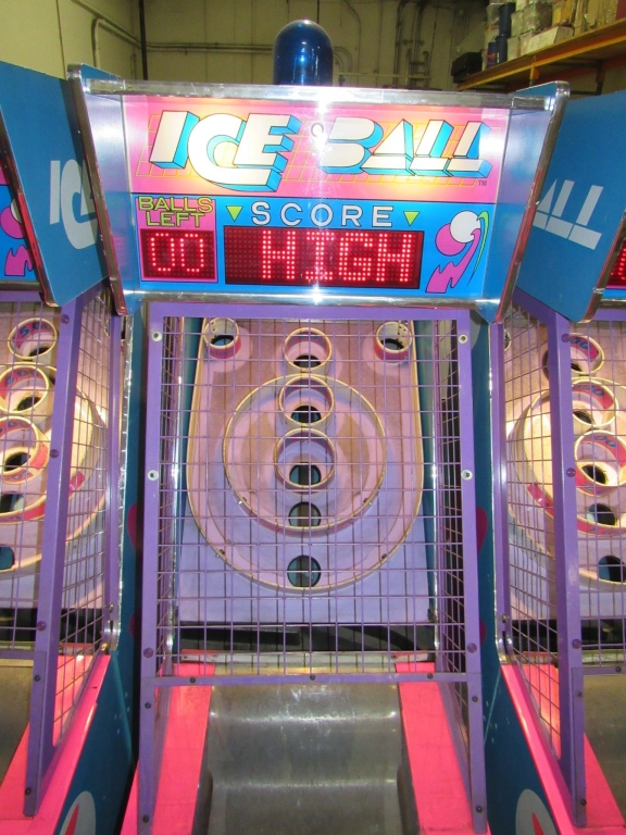 Lot 178 - ICE-BALL ALLEY ROLLER TICKET REDEMPTION GAME #3