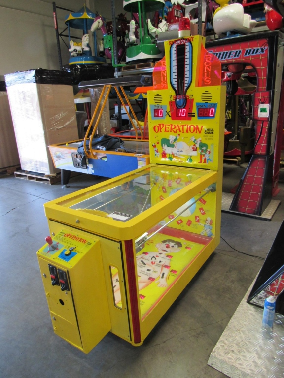 Lot 197 - OPERATION TICKET REDEMPTION GAME COASTAL