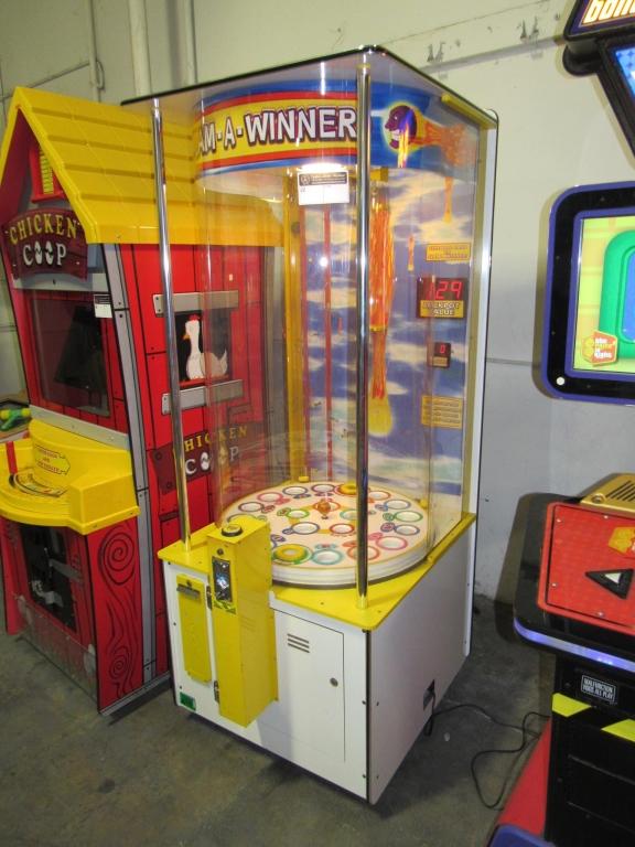 Lot 186 - SLAM A WINNER BENCHMARK TICKET REDEMPTION GAME