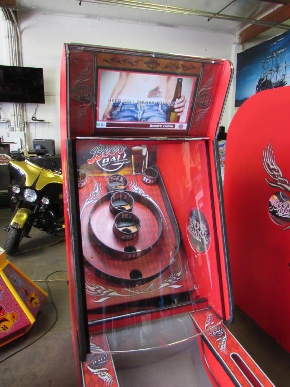 Lot 203 - BEER BALL ALLEY ROLLER REDEMPTION GAME BAYTEK #1