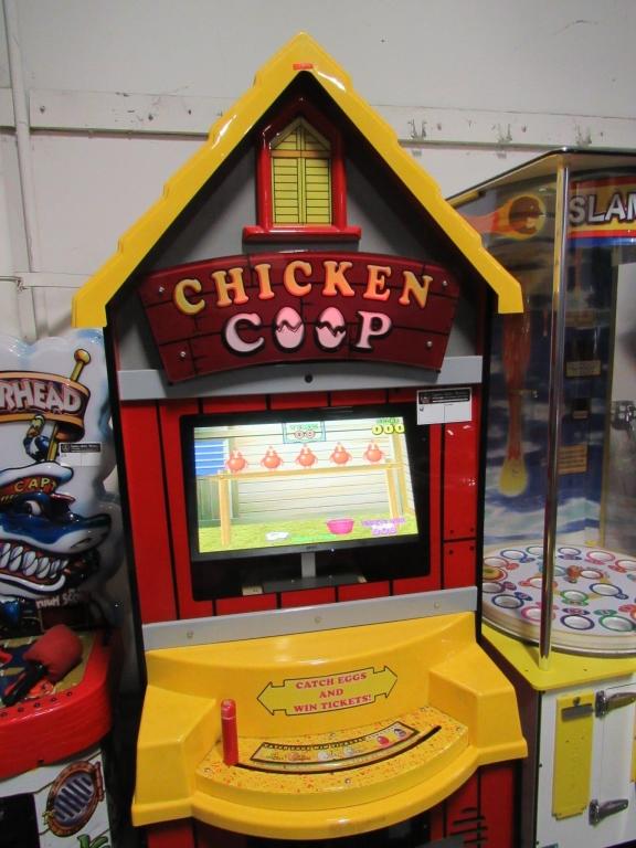 Lot 187 - CHICKEN COOP LCD TICKET REDEMPTION GAME ICE