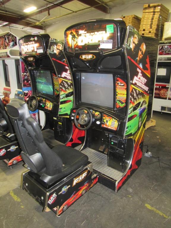 Lot 165 - DRIFT FAST & FURIOUS SITDOWN RACING ARCADE GAME #2