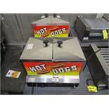 LOT (2) Gold Medal 8007 Hot Dog Steamers