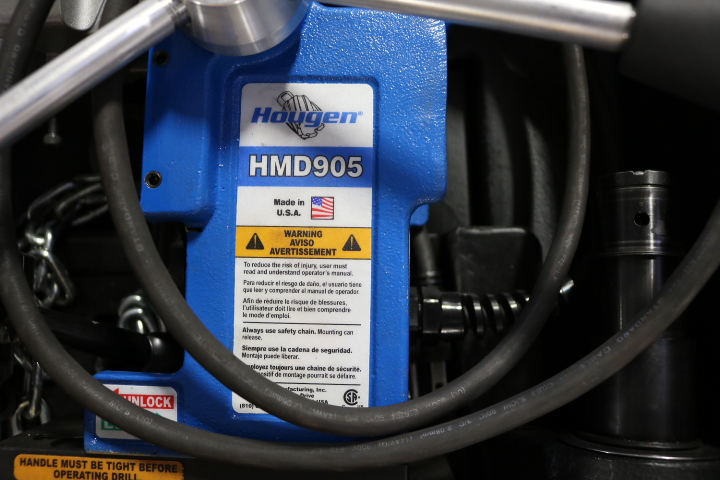 Lot 50 - HOUGEN HMD905 PORTABLE MAG DRILL, W/ CASE
