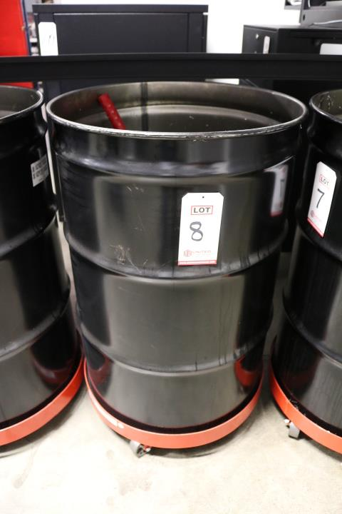 Lot 8 - 55 GALLON DRUM, W/ DOLLY