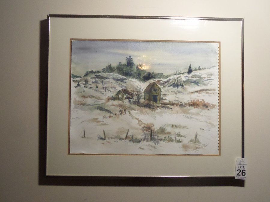Lot 26 - PAINTING BY PAULINE WEIR