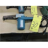 Lot 30 - BELT SANDER, MAKITA 1""